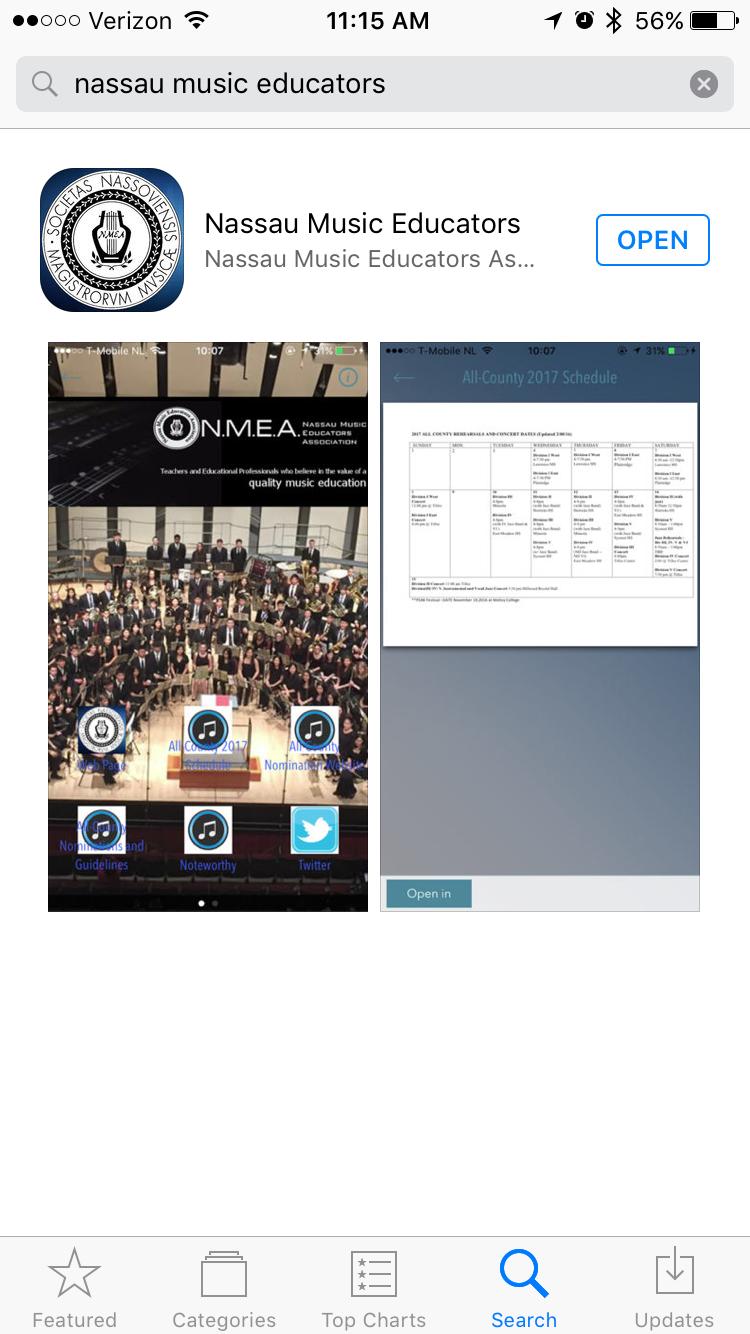 NMEA App Available! – Nassau Music Educators Association